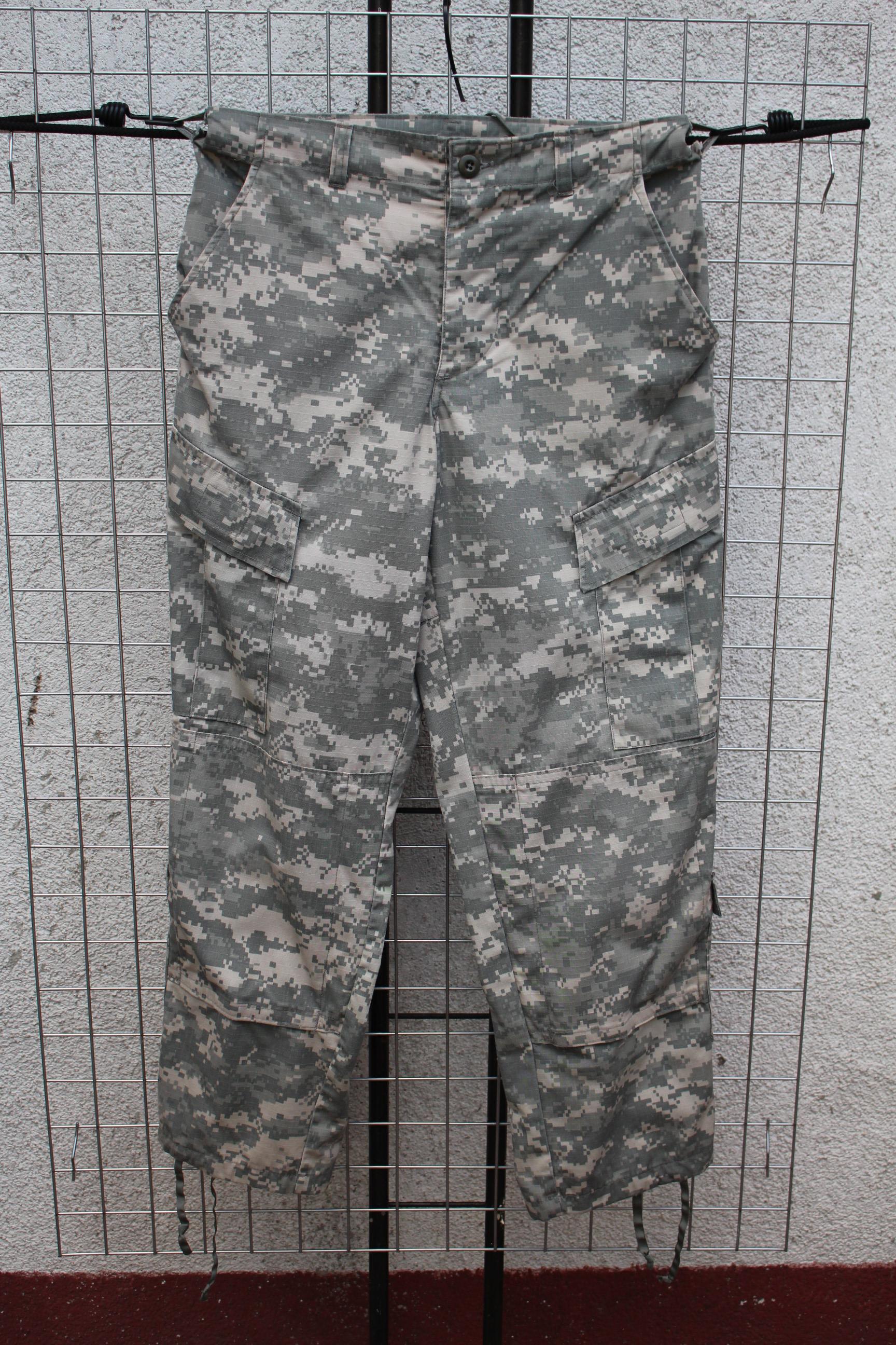 Small Ucp Us Spodnie Short Army Acu Oryginalne Xq4a4