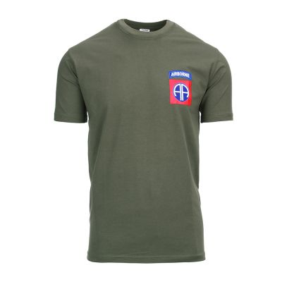 T-shirt 82nd Airborne roz XXL