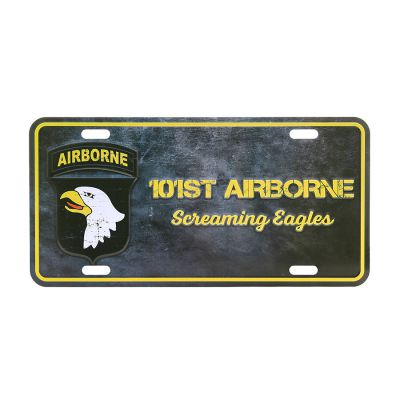 Tablica Rejestracyjna  101st Airborne Screaming Eagles