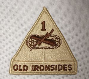US ARMY - OLD IRONSIDES - PUSTYNNA  - NOWA